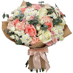 Цветы на 14 февраля - Ваниль