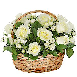 Корзина цветов Мэрилин Монро