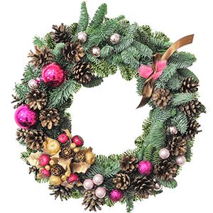 Букет на Новый Год - Новогоднее украшение