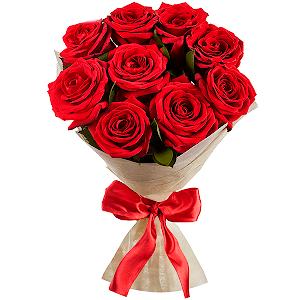 Цветы на 14 февраля - Рубиновое сияние