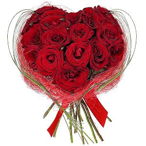 Цветы на 14 февраля - Любимой!